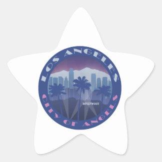 LA Hollywood cool Star Sticker