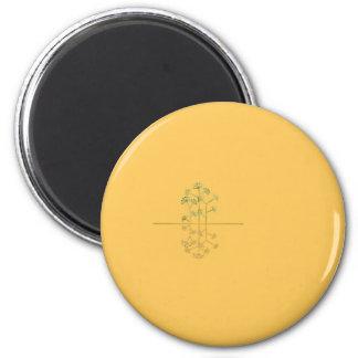 La Isla Bonita 6 Cm Round Magnet