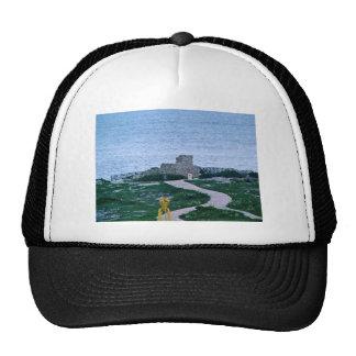 La Isla Mujeres Mexico Ruins credit Sean Varner Mesh Hat