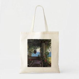 La Jolla Arbor by Guy Rose Canvas Bag