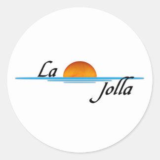 La Jolla Classic Round Sticker