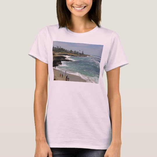 La Jolla Cove Beach T-Shirt
