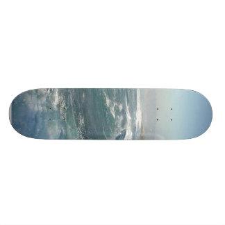 La Jolla Cove Ocean Beach Waves Skate Deck