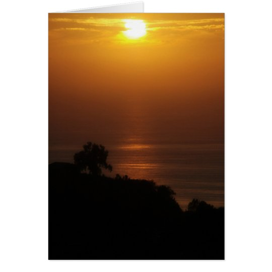La Jolla Sunset Card