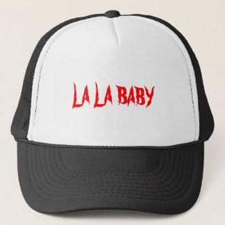 LA LA BABY TRUCKER HAT