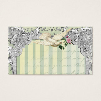 La Lettre D'amour Dove Place Card