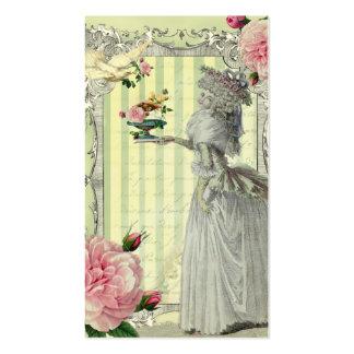 La Lettre D'amour ivory Pack Of Standard Business Cards