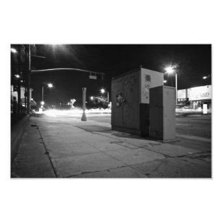 LA Light Streams PRINT Photo