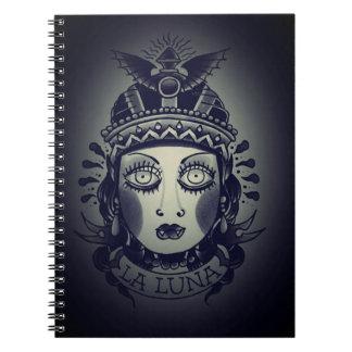 la luna note pad notebooks