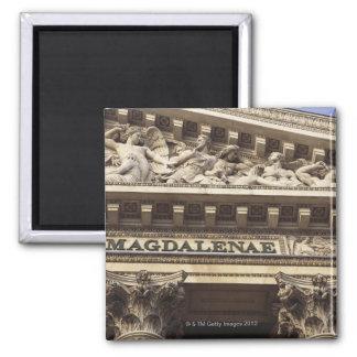 La Madeleine Church in Paris, France Magnet