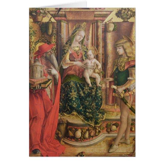 La Madonna della Rondine, after 1490 Card