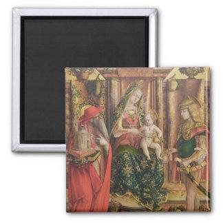 La Madonna della Rondine, after 1490 Refrigerator Magnet