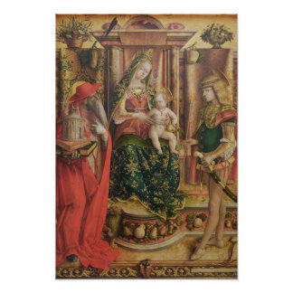 La Madonna della Rondine, after 1490 Poster