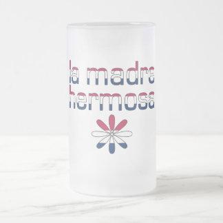 La Madre Hermosa America Flag Colors Coffee Mugs