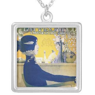 La Maison Moderne, c.1902 Silver Plated Necklace