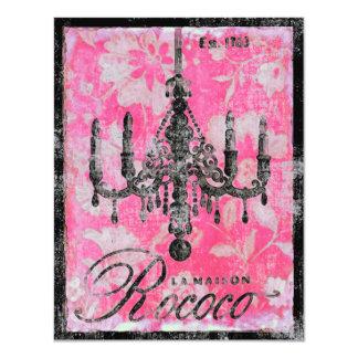 La Maison Rococo ~ Invitation