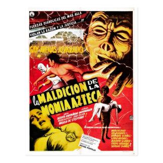 La Maldicion De La Momia Azteca Post Card
