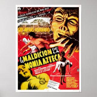 La Maldicion De La Momia Azteca  Poster