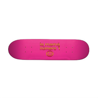 La Mamá Número 1 ( Number 1 Mom in Spanish ) Skate Board Decks