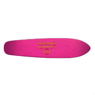 La Mamá Número 1 ( Number 1 Mom in Spanish ) Skate Boards