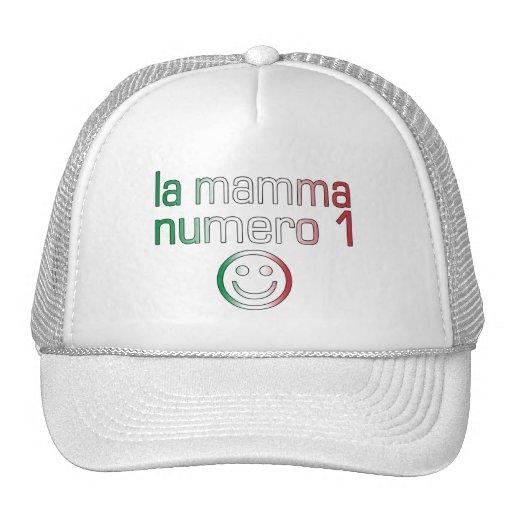 La Mamma Numero 1 ( Number 1 Mom in Italian ) Trucker Hat