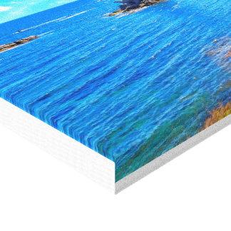 La Manga seaside in Spain Gallery Wrapped Canvas