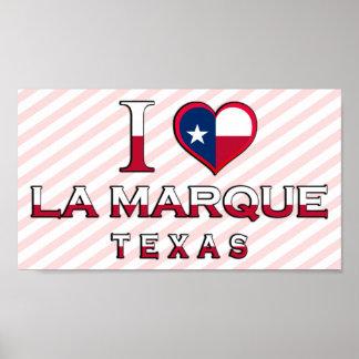 La Marque Texas Print