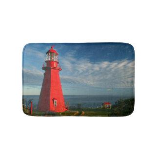 La Martre Lighthouse | Matane On The Gaspe Bath Mat
