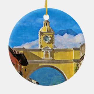 La Merced Arch - Antigua Christmas Ornament