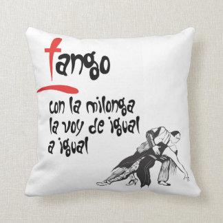 La Milonga y yo Tango Throw Cushion