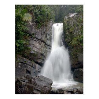 La Mina Falls Postcard