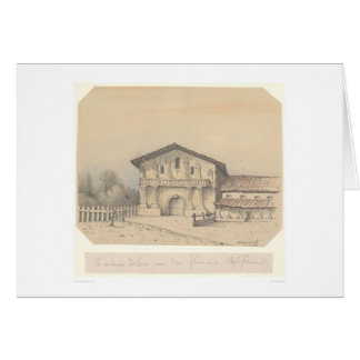 La Mission Delores, San Francisco, CA (1205) Greeting Card