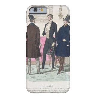La Mode: Advertisement for 19th Century Men's Fash Barely There iPhone 6 Case