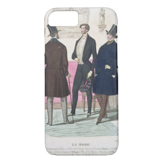 La Mode: Advertisement for 19th Century Men's Fash iPhone 8/7 Case