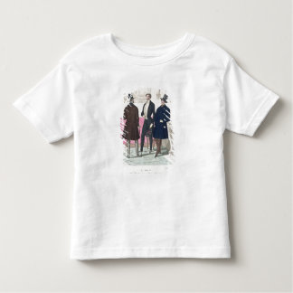 La Mode: Advertisement for 19th Century Men's Fash Toddler T-Shirt