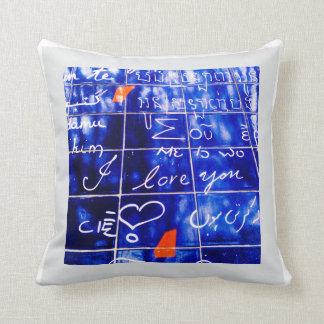 La Monde - I Love You Wall Paris Cushion