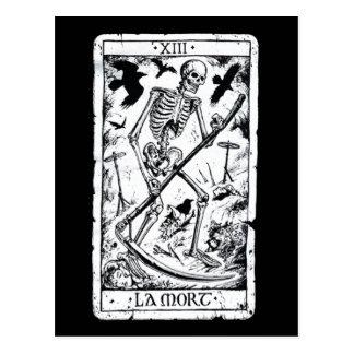 La Mort Tarot Card Postcard
