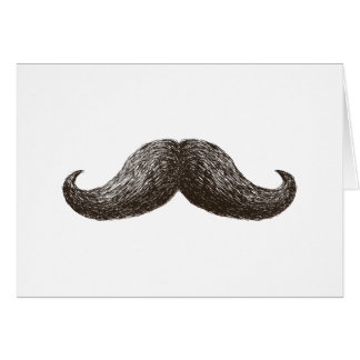 La Moustache (Horizontal) Card
