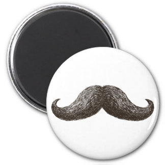 La Moustache (Light) Refrigerator Magnet