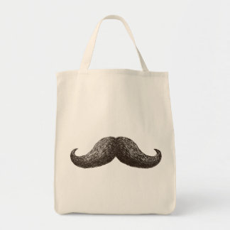 La Moustache Grocery Tote Bag