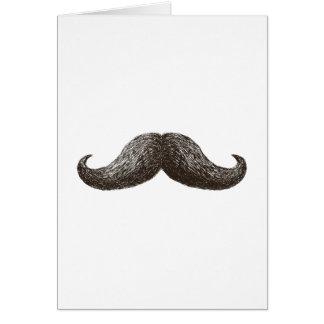 La Moustache (Vertical) Card