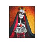 La Muerte Wrapped Canvas Gallery Wrap Canvas