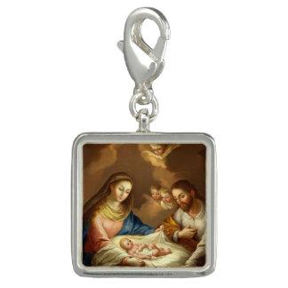 """La Natividad"" charm / bracelet"
