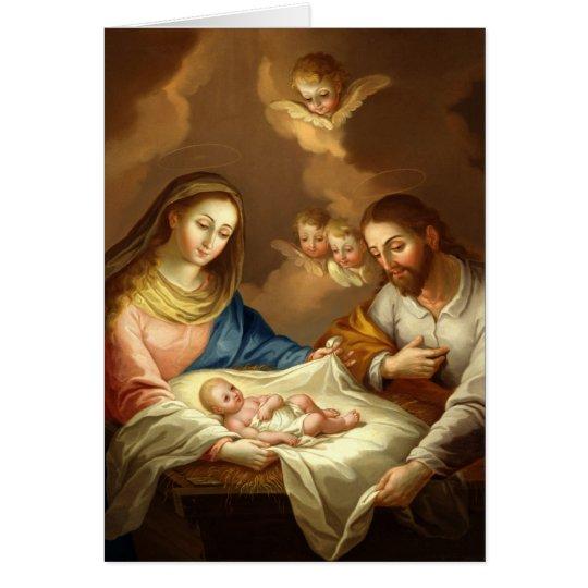 """La Natividad"" custom greeting card"