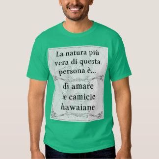 La natura più vera: amare camicie hawaiane t shirt