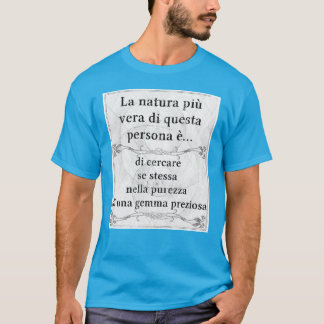 La natura più vera: cercare purezza gemma gioiello T-Shirt