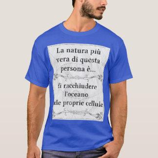 La natura più vera: contenere oceano cellule mare T-Shirt
