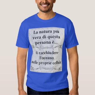 La natura più vera: contenere oceano cellule mare t-shirts