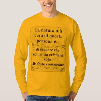 La natura più vera cristiani giorni coerenza shirts