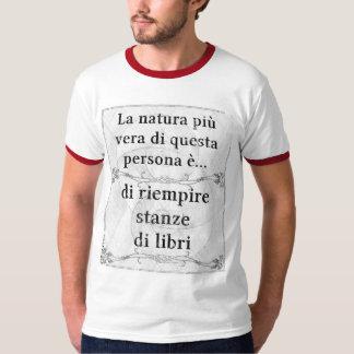 La natura più vera: libri riempire stanze leggere T-Shirt